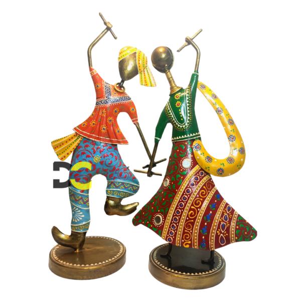 Garba Dancing Pair